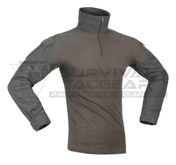 Pentagon Plato Tactical Shirt Mens Long Sleeve Police Law Enforcement Wolf Grey
