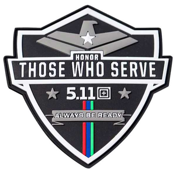 "5.11 ""Honor Those Who Serve"" Patch"