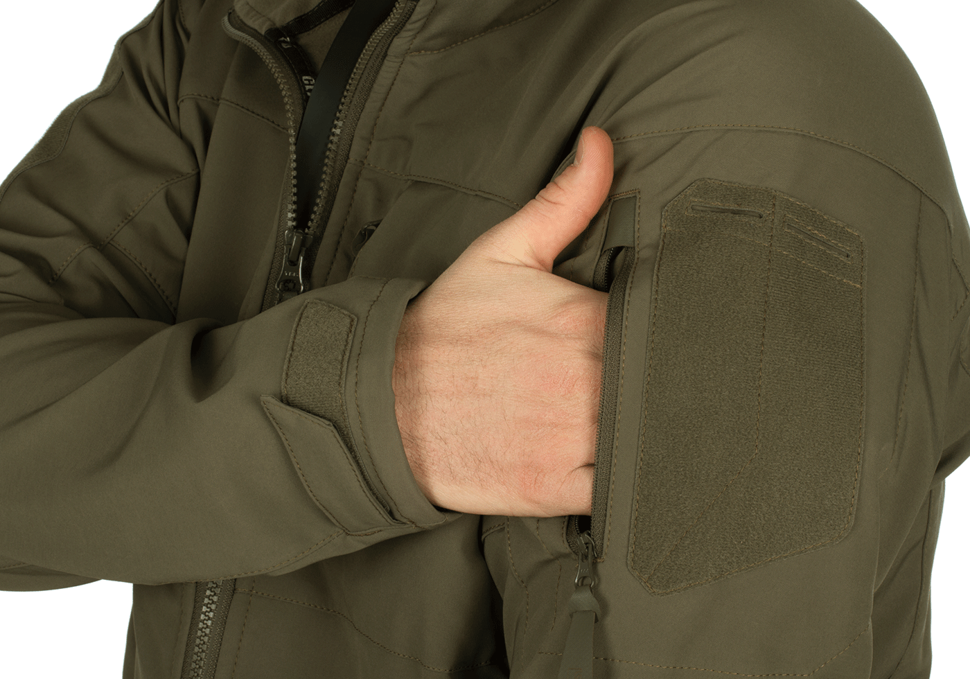 claw gear rapax softshell jacke