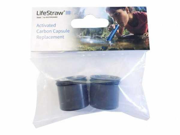 LifeStraw Aktivkohle-Kapseln (2 Stck.)