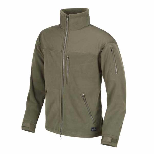 Helikon-Tex Classic Army Fleece Jacke oliv-grün
