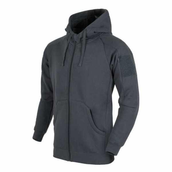 Helikon Tex Urban Tactical Hoodie Lite (FullZip)® - grau