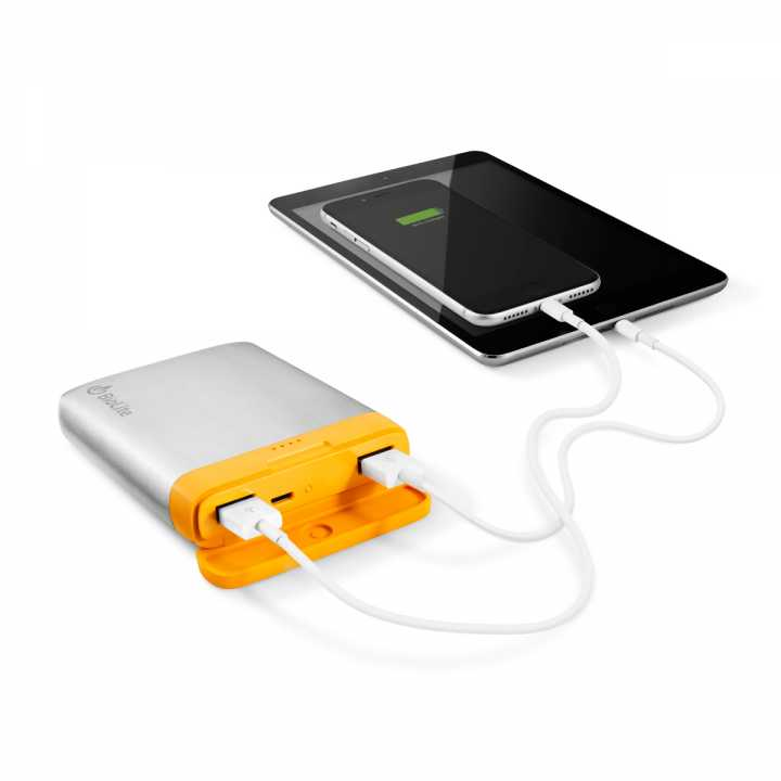Biolite SolarPanel mit integrierter Powerbank