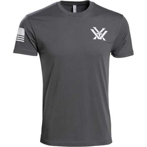 Vortex Grey Patriot Tee