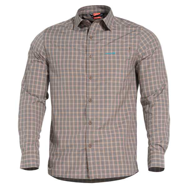 Pentagon Snoop Long Shirt tb checks