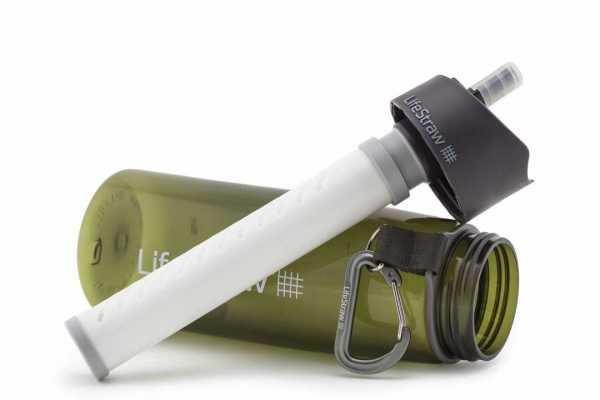 "LifeStraw Go 2-Stage (green)"""