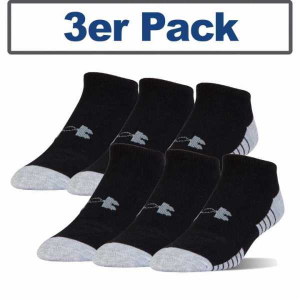 Under Armour Socks Tech Low Cut HeatGear grey/black