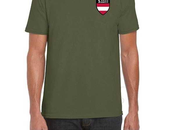 5.11 Shield T-Shirt Austria oliv-grün