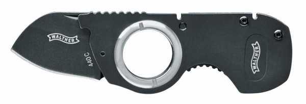 Walther Messer NFK - Neck Folding Knife schwarz