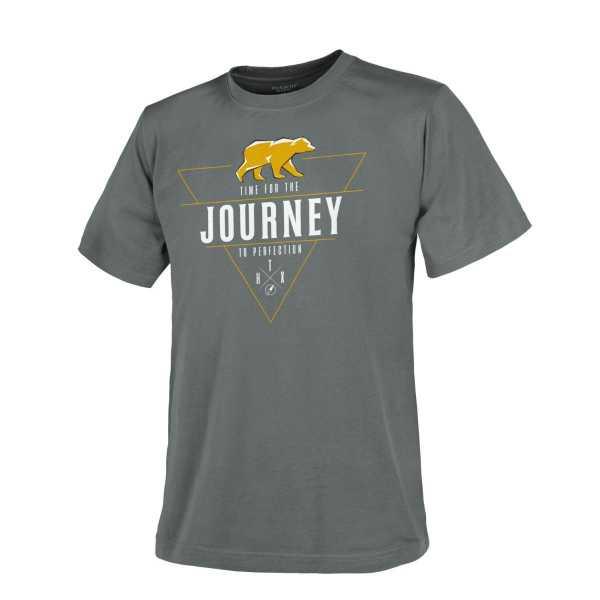 Helikon Tex T-Shirt (Journey To Perfection) shadow grau