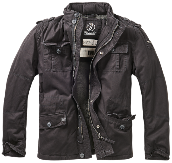 Winter jacket Britannia black
