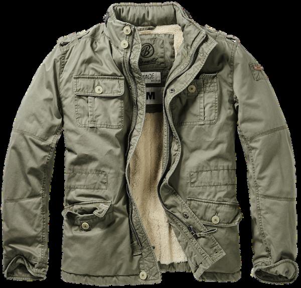 Winter jacket Britannia oliv