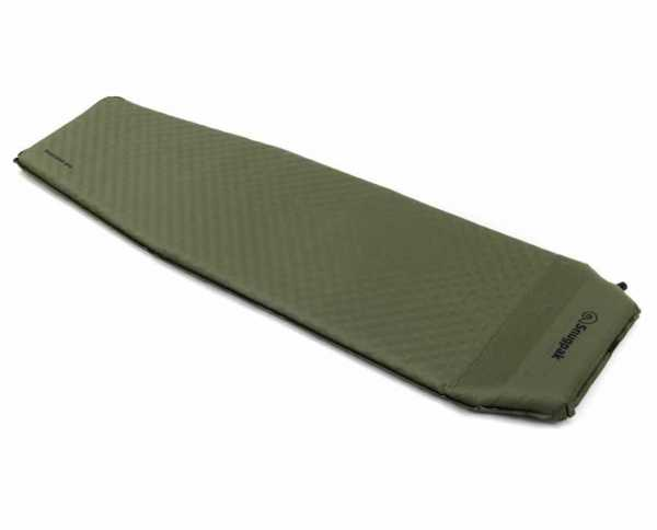 Basecamp Elite XL self-inflating Mat with built-in pillow
