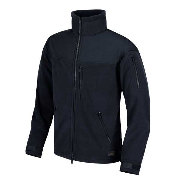Helikon-Tex Classic Army Fleece Jacke navy blau