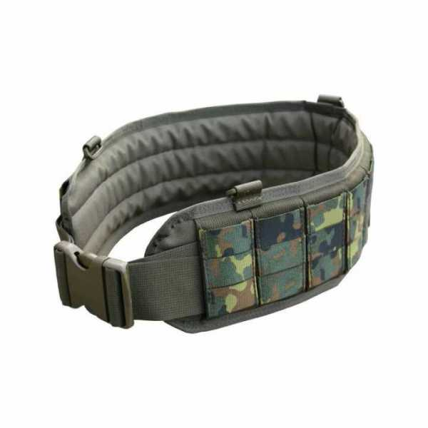 Padded Molle Duty Belt German Flecktarn