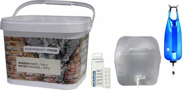 Water Package-Typ 2