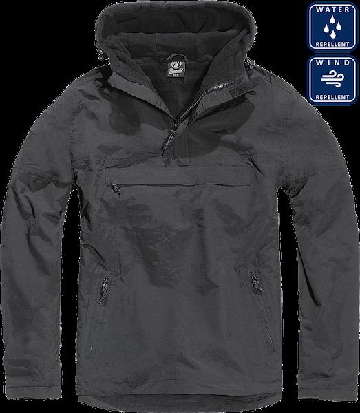 3001 Brandit Men/'s Between-Seasons Jacket Windbreaker Rain Jacket Fleece Lining