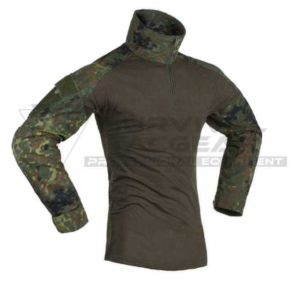 Invader Gear Combat Shirt flecktarn