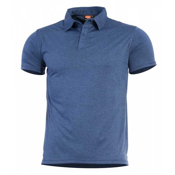 Pentagon Notus schnell trockendes Polo Shirt indigo blau