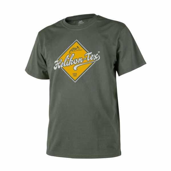 Helikon Tex T-Shirt (Helikon Tex Road Sign) oliv
