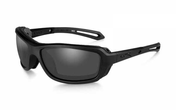 WX Wave Smoke Grey Matte Black Frame