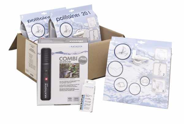 Katadyn Wasser Paket-Typ 1