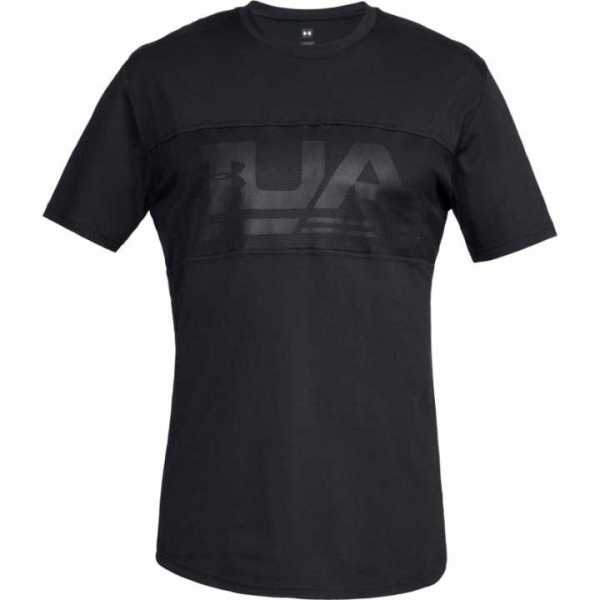 Under Armour Fitness Shirt Unstoppable Graphic schwarz