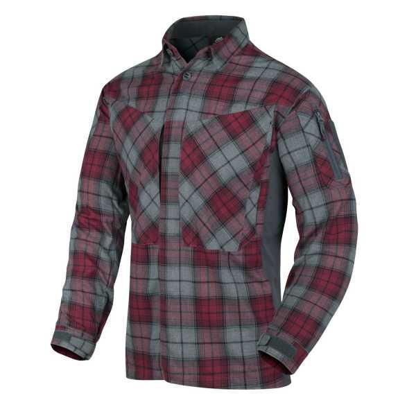 Helikon-Tex MBDU Flannel Shirt grau-kariert