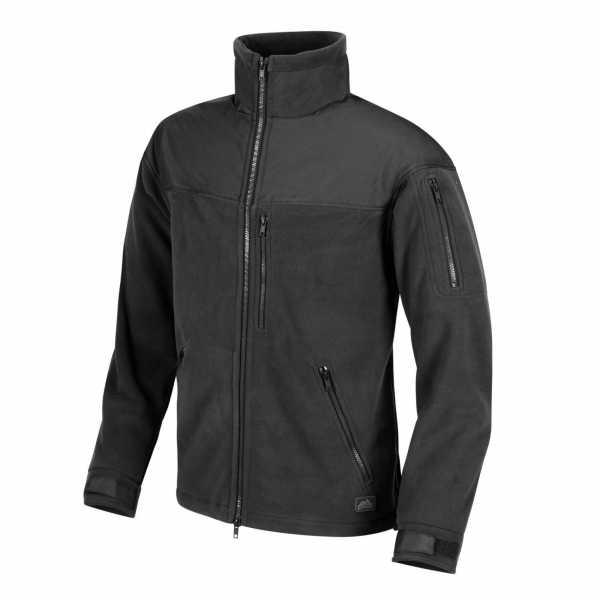 Helikon-Tex Classic Army Fleece Jacke schwarz