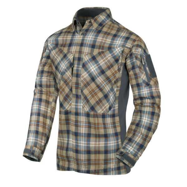 MBDU Flannel Shirt ginger-checkered
