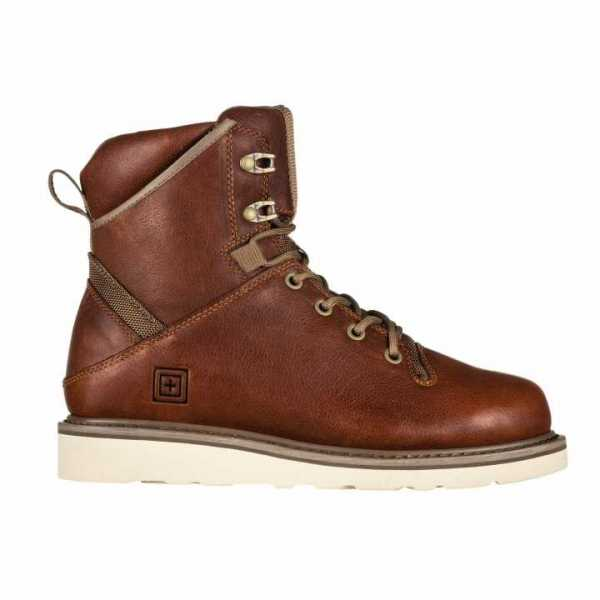 "APEX 6"" WEDGE BOOT, RUST"